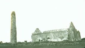 St. Senan's Arrival to Inis Cathaigh